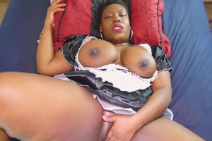 Crazy Plus-size Maid Getting In The..