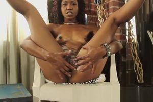 Lotus Lain drains her chocolate Cougar..