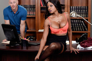 Diamond Jackson & Johnny Sins in Oily..