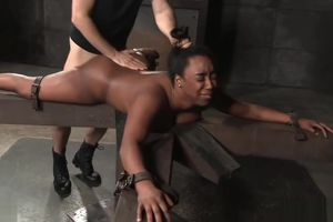 Dark-hued Strapped Down and Plowed