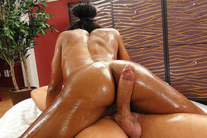 black stepsister  rubdown romped